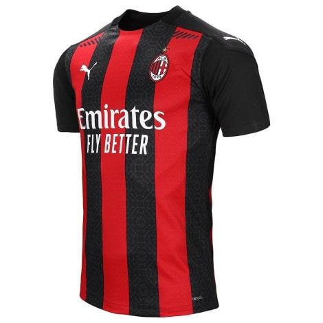 Домашняя аутентичная футболка Милана 2020-2021