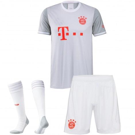 Комплект взрослой гостевой формы Баварии 2020-2021 футболка шорты и гетры