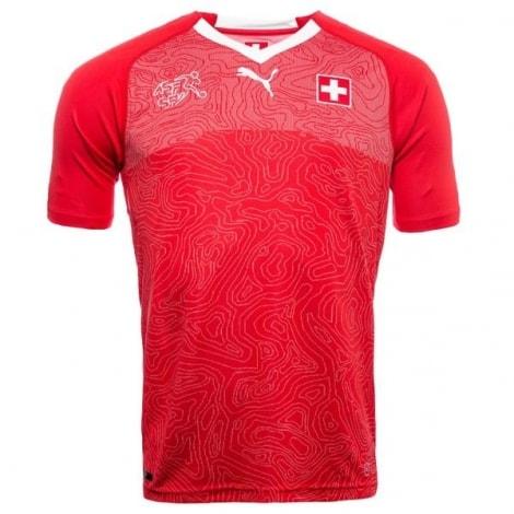 Домашняя футболка сборной Швейцарии на чемпионат мира 2018