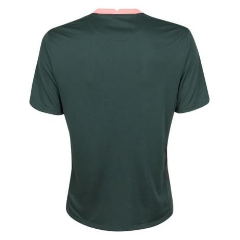 Комплект взрослой гостевой формы Тоттенхэма 2020-2021 футболка сзади