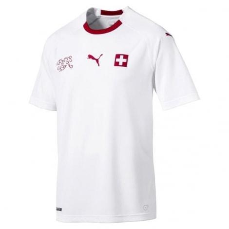 Гостевая футболка сборной Швейцарии на чемпионат мира 2018