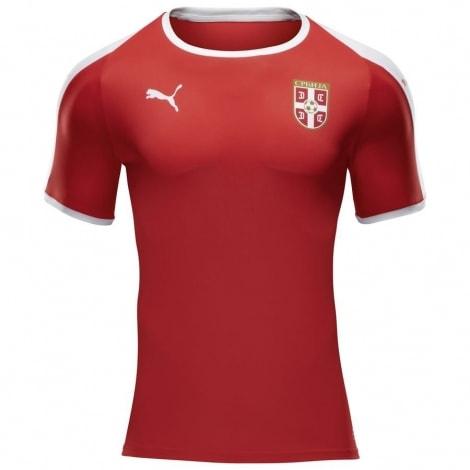 Домашняя футболка сборной Сербии на чемпионат мира 2018