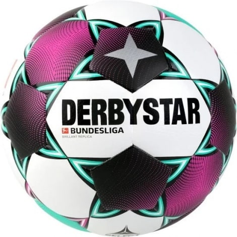 Бело фиолетовый мяч БундесЛиги по футболу 2020-2021