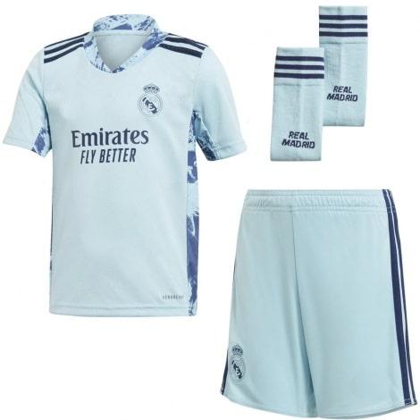 Домашняя вратарская форма Реал Мадрид 2020-2021 футболка шорты и гетры