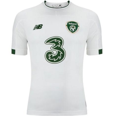 Гостевая игровая футболка сборной Ирландии на ЕВРО 20-21