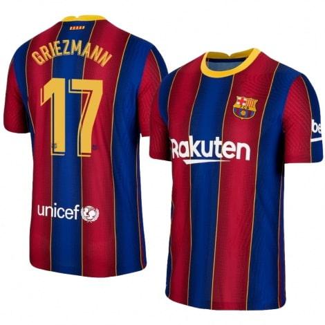 Домашняя футболка Барселоны 2020-2021 Антуан Гризманн