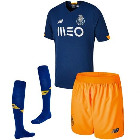 Комплект детской гостевой формы Порту 2020-2021 футболка шорыт и гетры