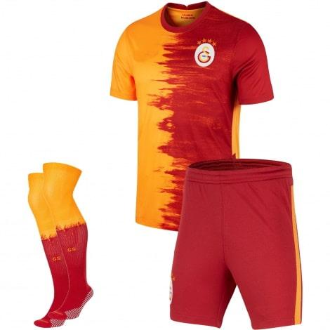 Комплект взрослой домашней формы Галатасарай 2020-2021 футболка шорыт и гетры