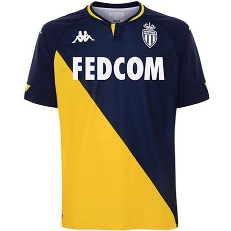 Гостевая игровая футболка Монако 2020-2021