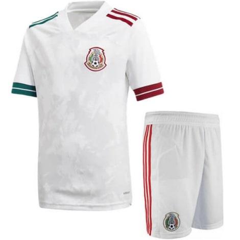 Гостевой комплект детской формы Мексики 2020-2021