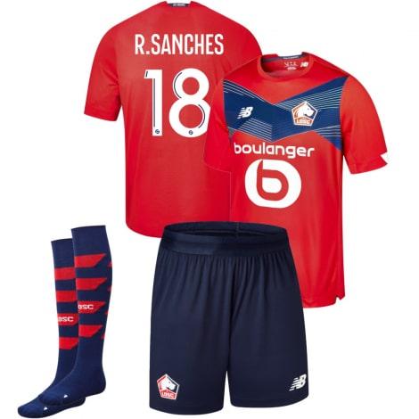 Детская домашняя футбольная форма Ренату Санчес 2020-2021