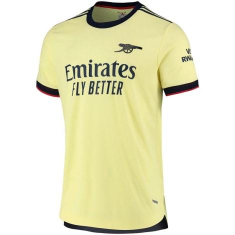 Гостевая аутентичная футболка Арсенала 2021-2022