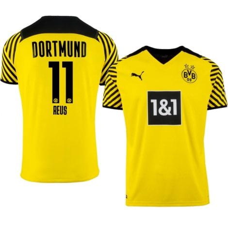 Детская домашняя форма Боруссии Марко Ройс 2021-2022 футболка