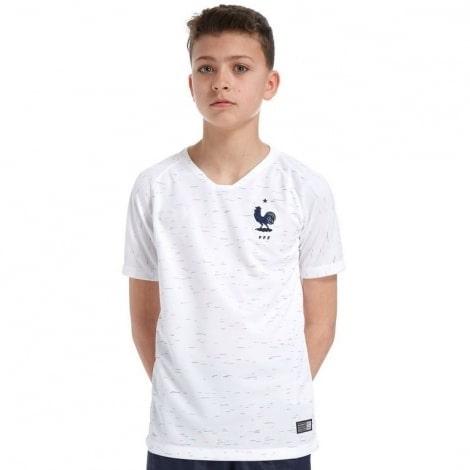 Детская гостевая футбольная форма Франции на ЧМ 2018