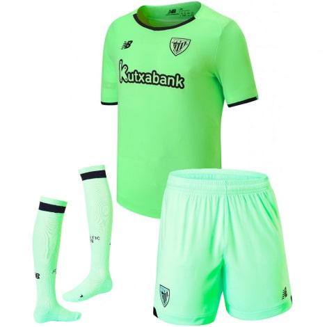 Детская гостевая форма Атлетик Бильбао 2021-2022 футболка шорты и гетры