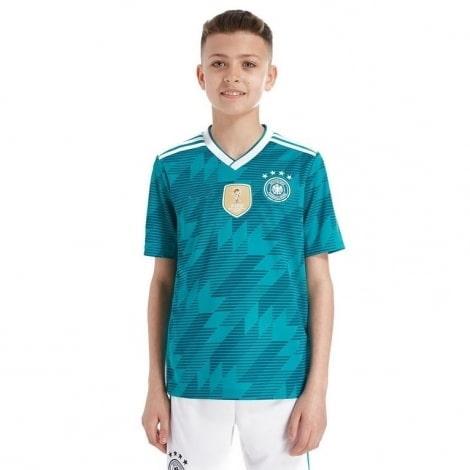 Детская гостевая футбольная форма Германии на ЧМ 2018