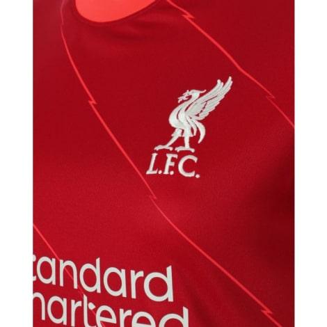 Домашняя футболка Ливерпуля 2021-2022 Мохаммед Салах герб клуба