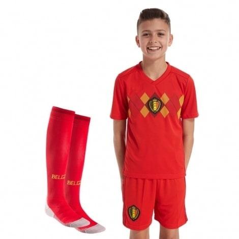 Комплект детской футбольной формы Бельгии на ЧМ 2018
