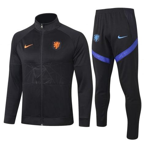 Черный костюм сборной Голландии по футболу 2020-2021