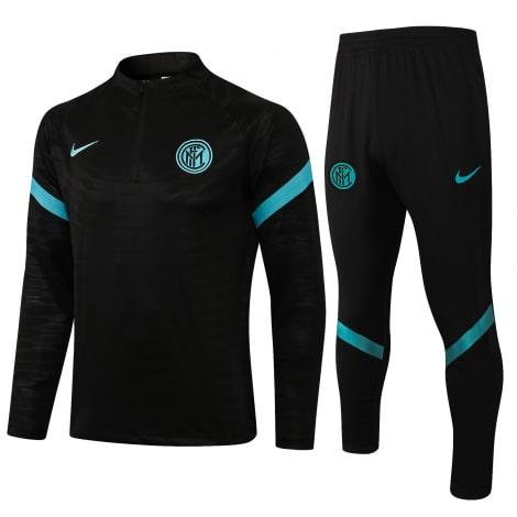 Черно-голубой костюм Интера 2021-2022