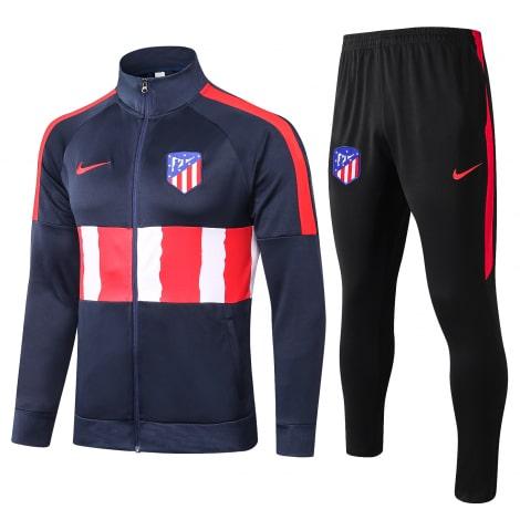 Черно-сине-красный костюм Атлетико Мадрид 2021-2022