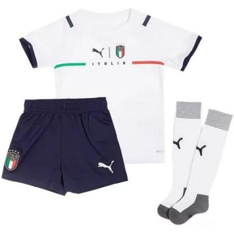 Детская четвертая футбольная форма Италии Иммобиле Флоренци на ЕВРО 2020-21