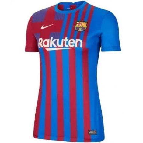 Женская домашняя футболка Барселоны 2021-2022