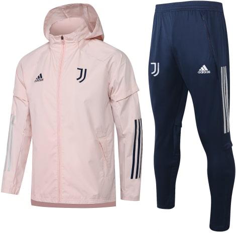 Сине-розовый костюм Ювентуса по футболу 2021-2022