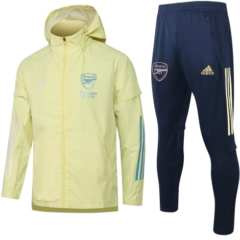 Сине-желтый костюм Арсенал по футболу 2021-2022