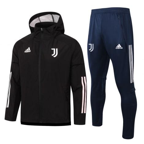 Черно-синий спортивный костюм Ювентуса 2021-2022