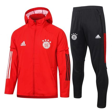 Красно-черный спортивный костюм Баварии 2021-2022
