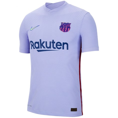 Гостевая аутентичная футболка Барселоны 2021-2022