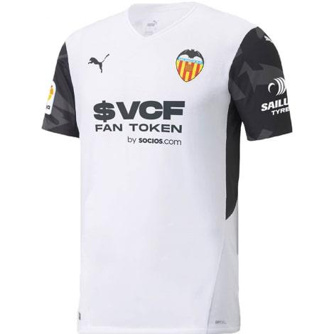 Домашняя игровая футболка Валенсия 2021-2022