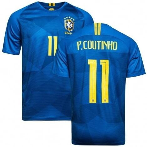 Футболка сборной Бразилии на ЧМ 2018 Филиппе Коутиньо