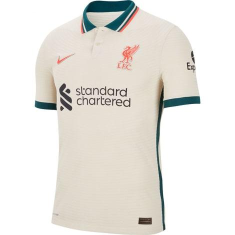 Гостевая аутентичная футболка Ливерпуля 2021-2022