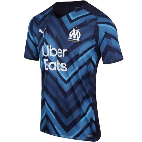 Гостевая игровая футболка Марселя 2021-2022