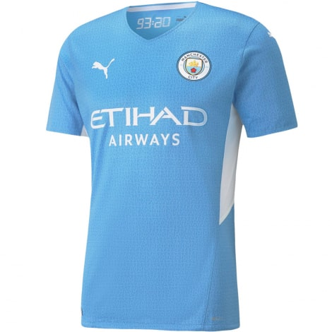 Домашняя аутентичная футболка Манчестер Сити 2021-2022