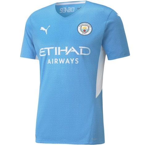 Домашняя игровая футболка Манчестер Сити 2021-2022