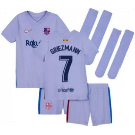 Детская гостевая футбольная форма Гризманн 2021-2022