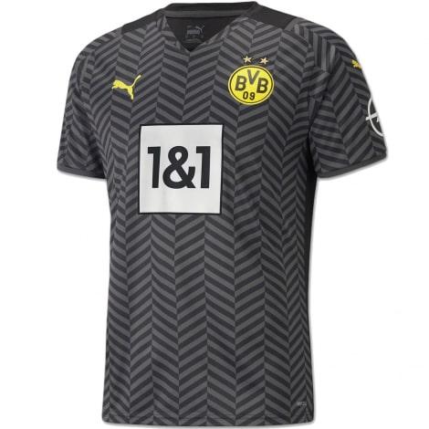 Гостевая игровая футболка Боруссии Дортмунд 2021-2022