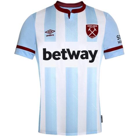 Комплект детской гостевой формы Вест Хэм 2021-2022 футболка