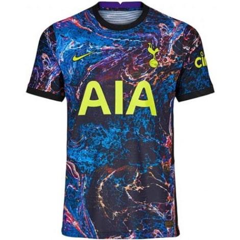 Гостевая аутентичная футболка Тоттенхэма 2021-2022