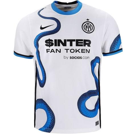 Гостевая игровая футболка Интера 2021-2022