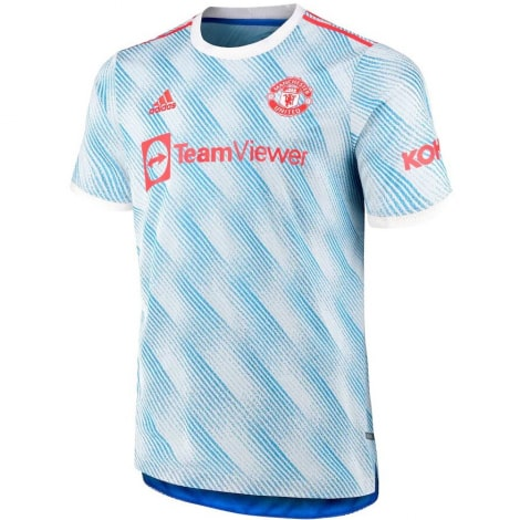 Гостевая аутентичная футболка Манчестер Юнайтед 2021-2022