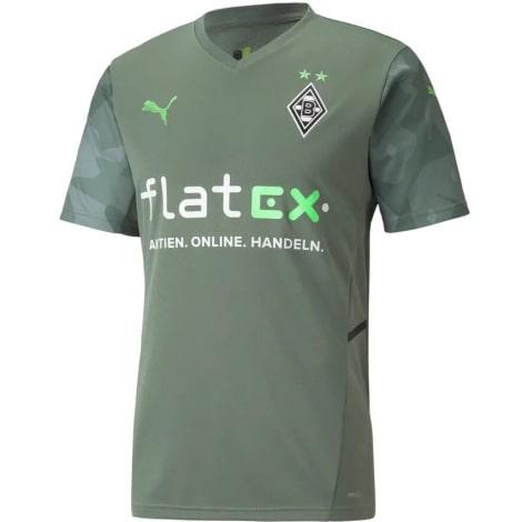 Гостевая игровая футболка Боруссии Менхенгладбах 2021-2022