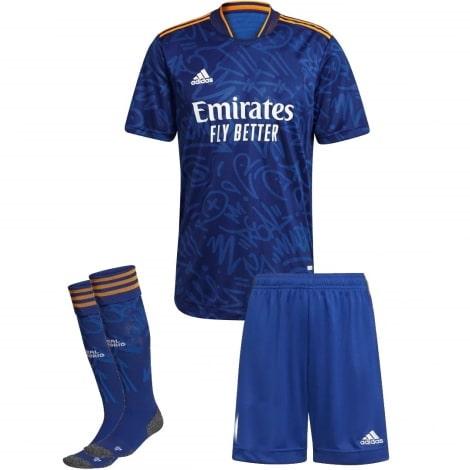 Детский комплект гостевой формы Реал Мадрид 2021-2022
