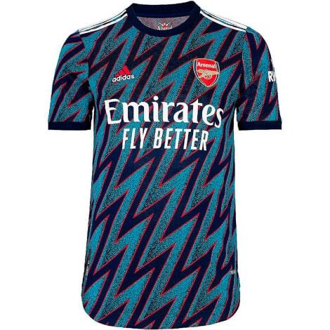 Комплект взрослой третьей формы Арсенала 2021-2022 футболка