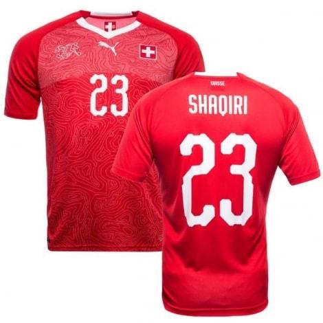 Домашняя футболка Швейцарии на ЧМ 2018 Шакири