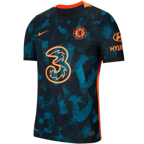 Третья игровая футболка Челси 2021-2022