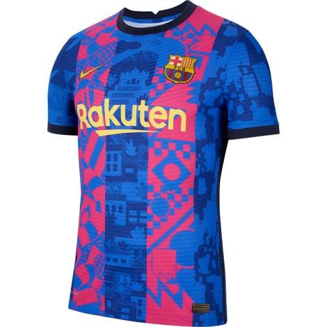 Третья игровая футболка Барселоны 2021-2022